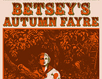 Betsey's Autumn Fayre poster