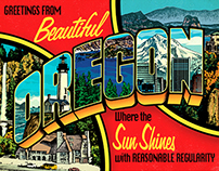 Greetings From Oregon / 1 image