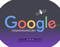 Motion graphics - google doodle