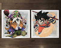 MECHASOUL DRAGONBALL FINE ART PRINTS