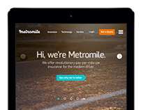 Metromile Site Design