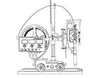 Welding equipment illustration