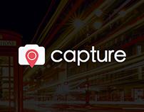 Capture  |  Marketing Page & App Design