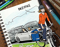 Bicycling Magazine, Bikeyface profile piece