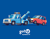 gotU - Roadside rescue, just when you need it.