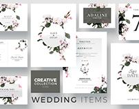 Creative Wedding Collection   Psd Templates