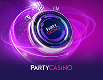 PartyCasino Key Visuals