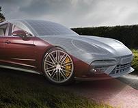 Porsche Panamera Turbo | CGI | 3D Modeling