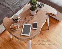 Coffee Table MOON Big / Stolik kawowy MOON Big