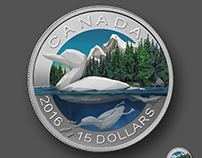 Low Poly Loon Coin