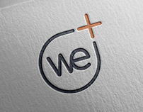 Logo design & Corporate Identity - WePlus S.p.a.