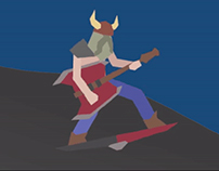 "Game Jam - ""Shield Rocker"" Animations"