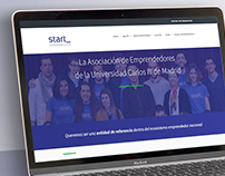 REDISEÑO WEB. UX / UI Start UC3M Emprendedores