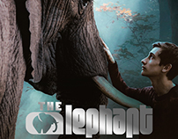 """THE ELEPHANT"" Movie poster design"