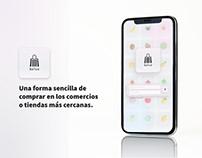 bolsa app - comercio local - UX/UI