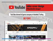 YouTube Thumbnails design/YouTube video cover design