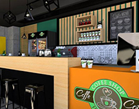 Coffee shop - 3D Design