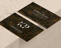 Kubicz Place Hair &Beauty Design- visual identity