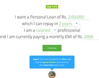 Cashkumar - Loans UX