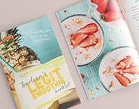 Legit Smoothie Booklet & Social Promo for Barlean's