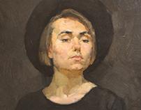 Portrait Bulgakova T.