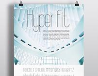 Hyper Fit - Design de Tipografia