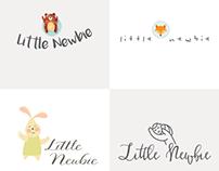 Little Newbie Branding Process