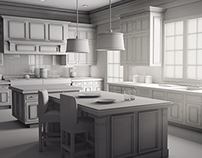 3D Model - Kitchen