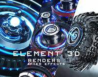 Element 3d - After effects by Oscar creativo