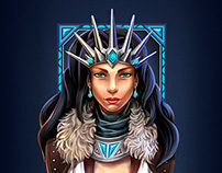 Woman north-warrior