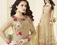 Latest Designer Long Indo Western Style Salwar Kameez