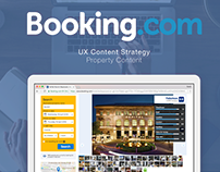 Booking.com - UX Content Strategy