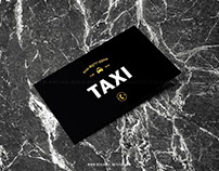 Business card design_TAXI
