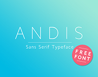 Andis Typeface