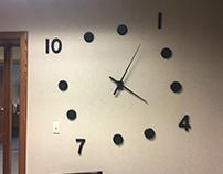 Tilt Clock