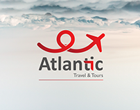 Atlantic Travel and tours Corporate Identity