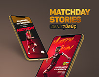 Matchday Stories/Deniz TÜRÜÇ