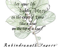#Tagore #Life #green #dance #time