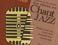 Jazz Voice Concert Posters