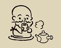 """山都園 創業者のおじいちゃん Grandpa of the founder of """"Yamatoen"""""""