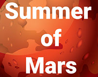 Summer of Mars Tour Map