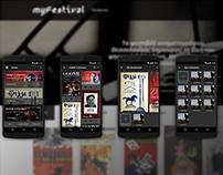 myFestival mobile app