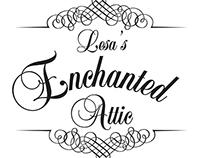 Lesa's Enchanted Attic Logo