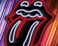 Rolling Stones - Las Vegas Event Poster