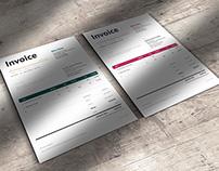Corporate Invoice Template Bella
