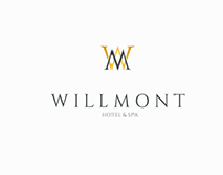 Willmont Hotel&Spa Logo Designs