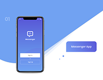 Messenger Mobile App UI