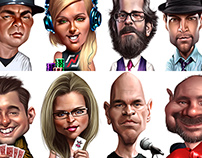 Avatars for mobile games.