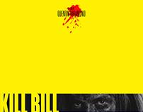 Kill Bill - Minimalist Movie Poster