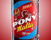 Foto producto Pony Malta botella.